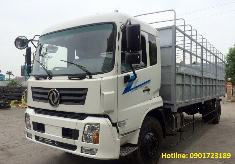 Xe tải thùng Dongfeng 8 tấn