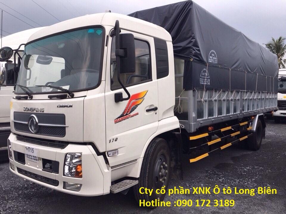 Xe tải thùng B170 Dongfeng Hoàng Huy 2017-2018