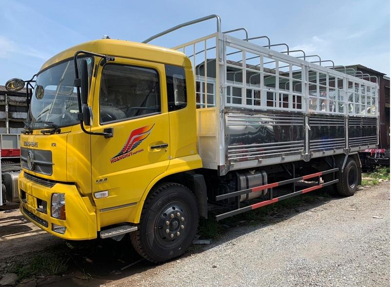 Xe tải thùng Dongfeng Hoàng Huy B180- Giá xe tải thùng Dongfeng Hoàng Huy 2020