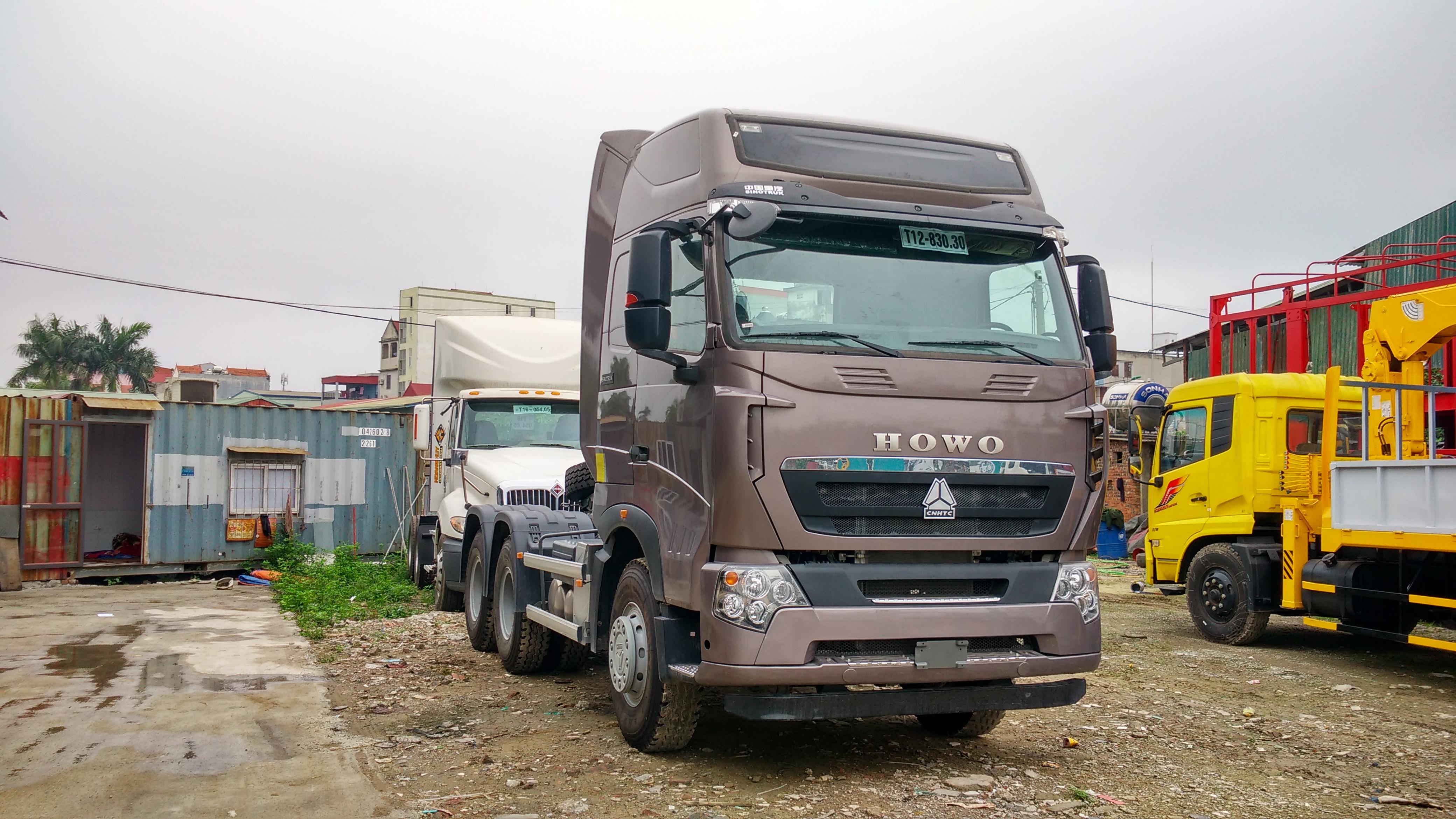 Xe đầu kéo Howo 420HP – Giá đầu kéo Howo 2021